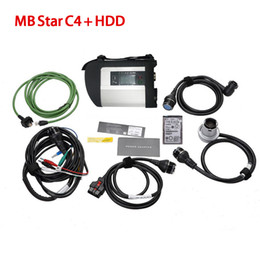 Wholesale Mercedes Compact - Full Chip with Software HDD MB STAR C4 MB SD Connect Compact 4 Diagnostic Tool with WIFI Function For Mercedes Benz Car & Truck