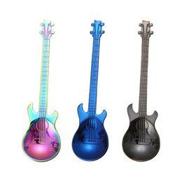 2019 style de couleur de guitare The New Style Guitar Shapes 7 cuillères de couleur style de couleur de guitare pas cher