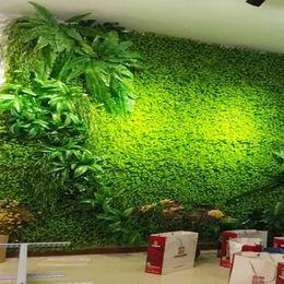 Wholesale Flowers Fence - Anmas Home 3pcs 40 *60cm Green Grass Artificial Turf Plants Garden Ornament Plastic Lawns Carpet Wall Balcony Fence for Home Decor