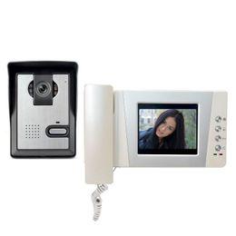 """Wholesale Security Camera W - 4.3"""" LCD Video Door Phone Intercom Doorbell System Video Door bell Intercom Doorphone Kit for Home Security"""