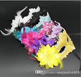 2019 rosas de cuero Venta al por mayor de máscaras de fiesta de baile enmascaradas de Halloween para máscaras de rosas de cuero. rosas de cuero baratos