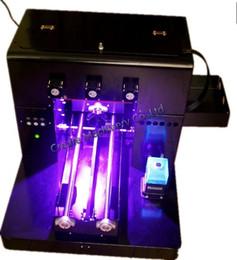 2019 máquinas plc Qualidade de alta resolução multicolor tamanho A4 telefone de impressora UV