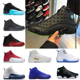 Wholesale Global Rubber - Global hot sale 13s OVO Black Cat Basketball Shoes Men Sports Training Sneakers High BIG Quality Blackcat BEST dilivery pk air Sports Shoes