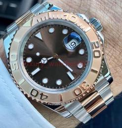Homens de luxo Assista Top Sapphire Cerâmica Bezel Mens Aço Inoxidável Movimento Mecânico Automático Relógios Esportes Auto-vento Relógios de Pulso cheap winding wrist watch de Fornecedores de relógio de pulso sinuoso
