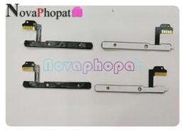 2019 controlar o poder do cabo Novaphopat Power On / off Interruptor de Volume Flex Para Wiko Bloom Botão Lateral Botão de Volume Flex Cable Board + rastreamento controlar o poder do cabo barato