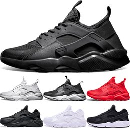 618abe2751d7c Cheap Air huarache 1 4 Men Women Running shoes Ultra Triple Black White Red  Core Oreo Huaraches Designer Trainers Sport Sneaker Size 36-45