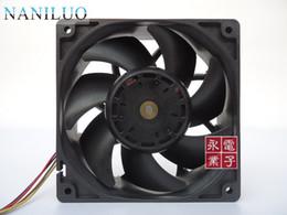 fan dc48v Rebajas Nuevo original DC48V 9GV1248P1B04 12038 120 * 120 * 38mm rodamiento de bolas ventilador de refrigeración ventilador axial