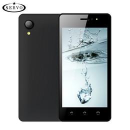 telefone celular novo modelo Desconto Smartphones SERVO W280 Tela capacitiva 4.5 polegadas Qual Core Android7.0 Dual SIM Cards 7.0 Câmera Celular ROM 4 GB telefone móvel