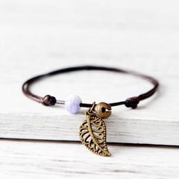 bracelets pour femmes poignets Promotion Céramiques Perles De Charme Bracelets Amoureux Bohême Amitié Pendentif Chakra Corde Chaîne Usine Bracelet Unisexe Pulseras Mujer