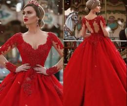 8b428a46f30d Vestido De Compromiso Largo De Encaje Rojo Suministro de Argentina ...