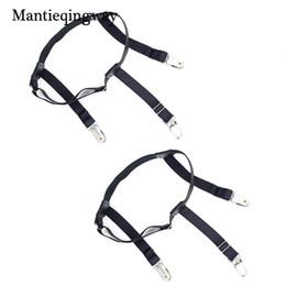 Men's Suspenders Strong-Willed Tiaobug Men Double Clip Adjustable Gentleman Elastic Leg Harness Sock Stays Garters Suspender Garter Business Holder Braces Belt Men's Accessories