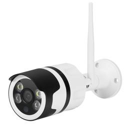 Vigilância à prova de intempéries on-line-HD à prova de intempéries câmera ao ar livre impermeável, full color visão nocturna Vigilância Segurança IP Camera