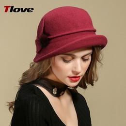 angepasste hüte Rabatt Dame Fedoras Wollhut Mädchen Woolen Basin Cap Studenten Freizeit Dome Hut Mode Wolle Hüte Einstellen B8983