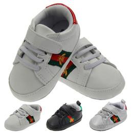 2019 caoutchouc Chaussures pour bébé au détail 2018 Chaussures pour bébés en bas âge à la mode bebek ayakkabi Chaussures pour bébés garçons Premiers marcheurs en toile Sneaker