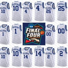 Wholesale Peyton Manning Jersey Xxl - 2018 Final Four NCAA Villanova Wildcats 22 Peyton Heck 2 kris jenkins 4 eric paschall 14 omari spellman white navy College Basketball Jersey