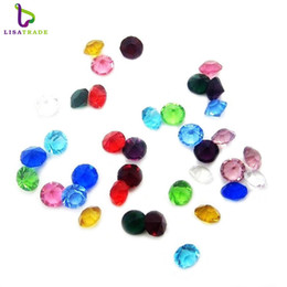 "Wholesale Love Floating Charm - 120PCS ""Mix Color"" Floating Charms 5mm Round Rhinestone Birthday Stone,Locket Jewelry Pendant For Necklace Pendant Free Shipping LSFC112*120"