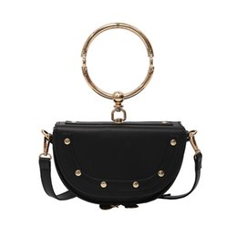 Wholesale Leather Rings - 2018 Newly Hot Sell Classic Style Fashion Flap bags women Rings tote bag Shoulder Bags Lady Totes handbags wallet purse