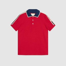 Wholesale High Collar T Shirts - Free shipping high-quality collar short sleeve T-shirt printed cotton male luxury fashion men's T-shirt leisure fashion medusa lapels