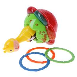 Освещение жирафов онлайн-Новорожденных мультфильм животных развивающие игрушки для детей проекция жираф Неваляшка детские игрушки с музыкой свет развивающие игрушки