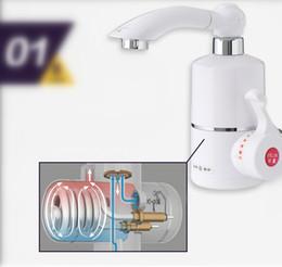 Torneiras torneira de água quente on-line-Torneira Aquecedor Elétrico de alta qualidade Instant Hot Water Tap torneira de água elétrica