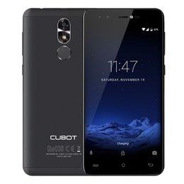 Wholesale Cubot Camera - Cubot R9 Quad Core MT6580 Android 7.0 Fingerprint 2GB+16GB Smartphone 5.0 Inch 1280x720 HD Screen 13.0MP Camera Celular