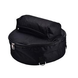 Instruments de poche en Ligne-Durable 44.5 * 17 cm caisse claire sac à dos sac à bandoulière avec bandoulière à l'extérieur poches instrument de percussion sacs cas