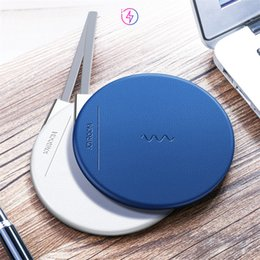 Wholesale Thin Qi Charger - JOYROOM Wireless Charger Ultra Thin Qi Fast Charger Wireless Charging Stand for Iphone X 8 with Retail Package