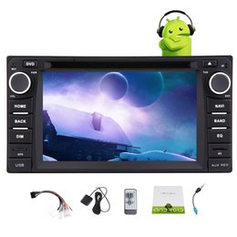 rádio gps corolla Desconto Android6.0 Car DVD Player para TOYOTA Corolla EX Quad Core Estéreo Do Carro GPS Navegação Wifi Bluetooth GPS FM / AM Receptor de Rádio 1080 P