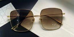 bdf4974031a98 New fashion designer sunglasses metal square frame simple popular style  coated reflective lenses uv400 protection eyewear