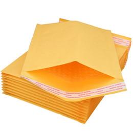 2019 buon rilievo all'ingrosso Pacchetti di sacchetti di carta Carta Kraft Sacchetti di buste di schiuma di bolle Buste imbottite Pacchetto per regalo all'ingrosso