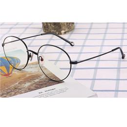 e6863003096a Metal computer glasses anti blue fashion reading glasses frames retro  spectacle round eyewear glass anti radiation Z1539-SDF