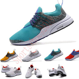 Wholesale fine online - hot sale Running Shoes Fine Mesh Breathable Presto Blackout speckle Sneaker air factory online run Damping and antiskid fashion running sh