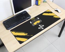 Mouse de ponta on-line-Arco-íris Seis Cerco 80 cm X 30 cm Q Super grande Mousepads Gamer bonito Gaming Mouse Pads High-end Mat Mesa para Frango Jantar vendas quentes