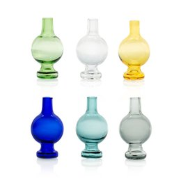 fitting glasses Coupons - Glass bubble carb cap OD 22mm Carb Cap fit for 20mm 25mm quartz banger nail X XL banger Also selling Glass Water Pipe