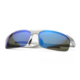 Wholesale grey car wrap - 2018 New design polarized Men sunglasses Polarized night sight glasses car driving sunglasses men outdoor sports for fishing running golf