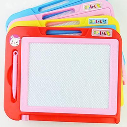 Wholesale Aqua Board - Children Magnetic Drawing Board Doodle Toys writing aqua doodle stencil painting magnetic Drawing board set Learning Education Toys Hobbi