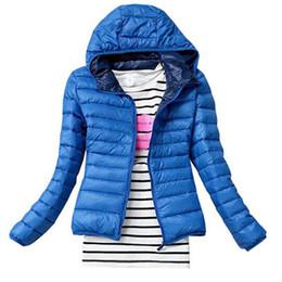 Wholesale Wholesale Down Coats - Wholesale- 2017 Woman Winter coat ultralight down jacket Parkas Winter Female Down Jacket Winter Coa Overcoat Women Jacket Parka Unisex