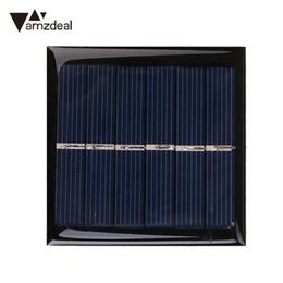 Wholesale polycrystalline solar cells diy - amzdeal 3V 0.6W Polycrystalline Resin Solar Panel Module Cell For Charger DC Battery DIY