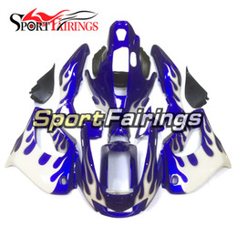 Wholesale yamaha thunderace - New Fairings For Yamaha YZF1000R Thunderace 1997 - 2007 97 - 07 Blue White Full Motorcycle Kit ABS Fairing Plastic Covers Bodywork Hulls