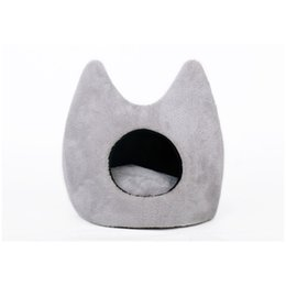 Wholesale high cat beds - Pet Products Cotton Pet Dog Bed Cute Shape Cats Dogs Small Animals Bed House Cushion High Quality Cheap