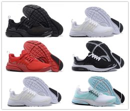 Wholesale Lace Tops Designs - Air Presto Running Shoes 2018 Wholesale New Design Sport Running Shoes Boost White Black Red Blue top quality Air Presto Ultra sneaker
