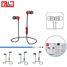 T8 Metal Manyetik Bluetooth 4.2 Kulaklık Kulaklık Spor Kablosuz Bluetooth Kulaklık Cep Telefonu Için Mikrofon Ile SD Kart yuvası nereden