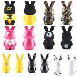 Wholesale Cute Travel Mugs - 7 Colors 240ml Cute All Joint Baby Rabbit Cups Stainless SteeL Vacuum Cup Travel Coffee Mug Thermoses Cup Baby Rabbit Bottle CCA8707 10pcs