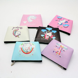 2020 kawaii tier bleistift fall Kinder Mädchen Reißverschluss Einhorn Geldbörse cartoon Brieftasche Geld Münztüte multifunktions Federmäppchen Kawaii Tier Make-Up Fall C5054 günstig kawaii tier bleistift fall