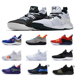 8a92c81e8760 2018 New What the Paul George 2 Basketball Shoes for Mens PG2 2s  PlayStation All Black Gold PG II High quality Sports Sneakers Size 40-46