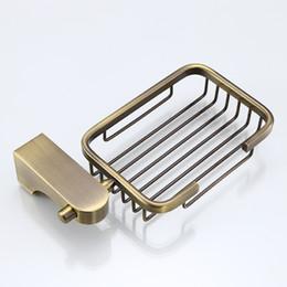 piatto di sapone in bronzo Sconti Alluminio Sapone Piatti Bronzo Marchio Accessori bagno Portasapone New Hot Accessori bagno Piatti di sapone