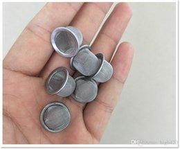 varitas de cristales Rebajas Pantalla de acero inoxidable Tubos de tabaco Filtros Cristal Tubos para fumar Varita de metal Filtros de cigarrillos Accesorios