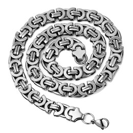 Wholesale Alloy Steel Products - whole saleNew Products 2016 For Men, Mens Jewellery, Stainless Steel Byzantine Chains Necklaces