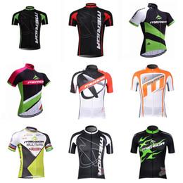 Wholesale merida pro cycling - MERIDA team Cycling jersey pro team men sport shirt Short sleeve Top Quality Cycling Clothing Cycling Clothes Wholesale Price 840214