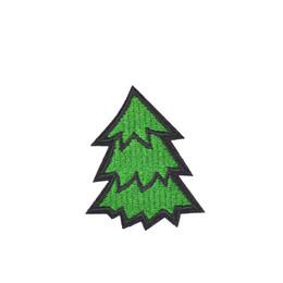 Sewing fabric for clothes on-line-10 PCS Diy Árvore Verde Crachá Tecido Patches de Roupas para Applique Remendo Bonito Applique Remendo De Ferro Applique para Roupas Costurar Acessórios Do Bordado